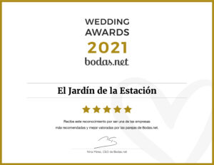 Wedding Awards 2021 - El Jardín de la Estación
